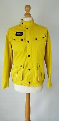 L149 Womens Lightweight Yellow Barbour Jacket, Large Child Or To Fit Uk 6