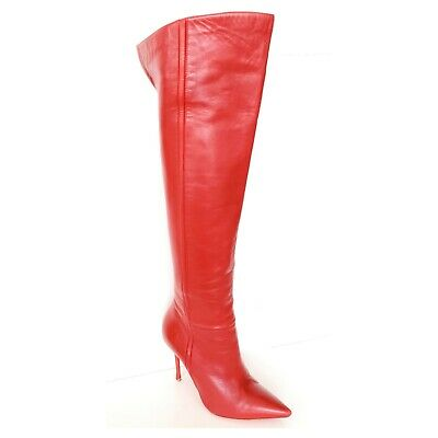 be0f519c370 CHRISTIAN LOUBOUTIN LAMBSKIN Ronfifi Supra over-the-knee boots ...