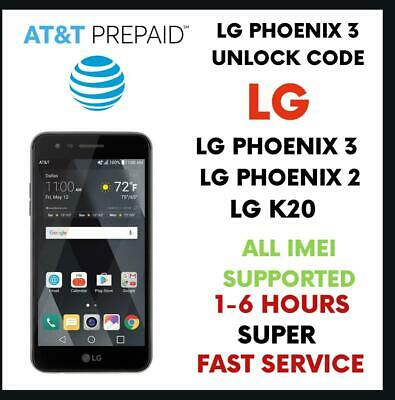 SPRINT LG STYLO 3 LS777 FACTORY UNLOCK ZV8 or Older ☆DONE REMOTELY