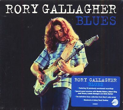 Rory Gallagher - Blues (3-CD, Deluxe Edition) - British Blues & Bluesrock