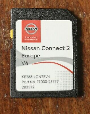 *2019/20*Latest Nissan Connect 2 V4 Lcn2 Sd Card Navigation Map Uk And Europe