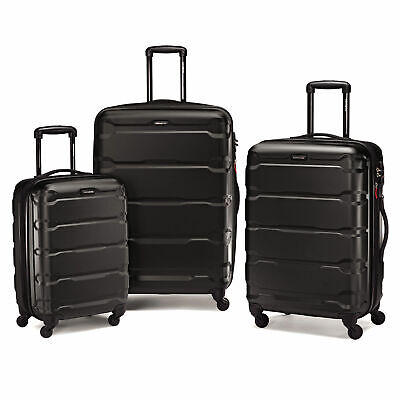 Samsonite Omni PC Spinner Set Black - Luggage