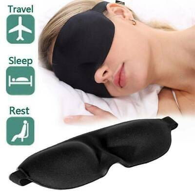 3D Sleeping Eye Mask Blindfold Sleep Travel Shade Relax Cover Light Blinder