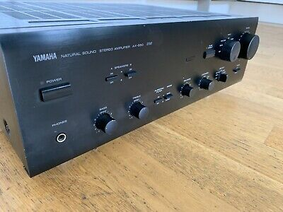 Yamaha AX-550 Integrated Hifi Amplifier Black Separate Amp