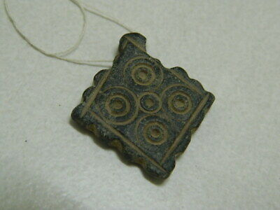 Ancient Stone Pendant Bactrian 300 BC #BE1218
