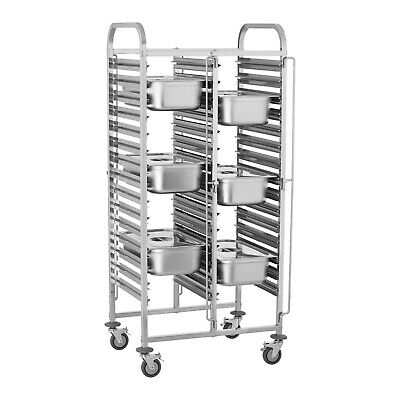 Catering Serving Trolley Hostess Food Restaurant Cart Dining Trolleys Stainless