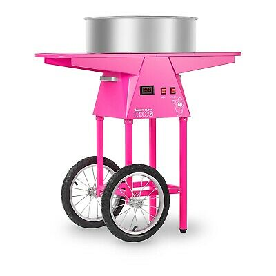 Candy Floss and Cart Electric Candyfloss Machine Commercial Cotton Candy Maker