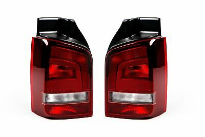 VW Transporter T5 10-15 Sportline Smoked Rear Lights Pair Set Driver Passenger