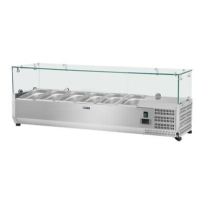 Countertop Refrigerated Display Case Refrigerated Attachment Gastro Saladette