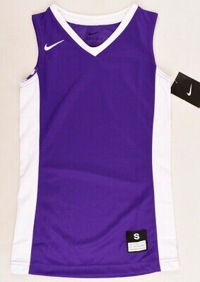 NIKE Girls' Basketball Top, Tank Top, Vest, DRI-FIT, Purple, size 8-10 y.
