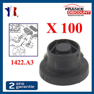 X100 Silent-Bloc circuit admission air filtre support 1422.A3 PSA 1.6 HDI 1422A3
