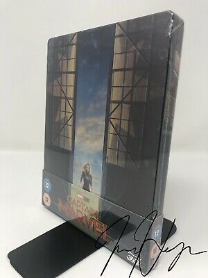 Captain Marvel 3D (Includes 2D Blu-ray) - Zavvi Exclusive SteelBook