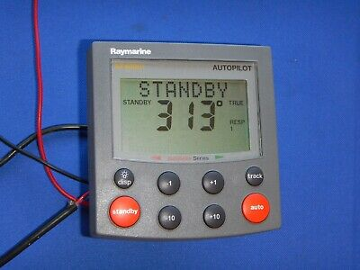 RAYMARINE ST4000 PLUS Autopilot Control Head Autohelm Raytheon Display  ST4000+