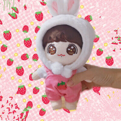 20cm/8'' KPOP BTS JUNGKOOK Plush Doll Toy with Clothes Limited Bangtan boys