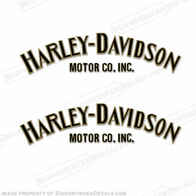 Harley-Davidson Fuel Tank Decals (Set of 2) - Style 1