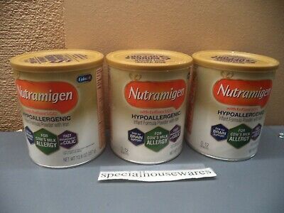 E...l Nutramigen Formula 3 Sealed 12.6 Oz Cans Exp 6/20-10/20