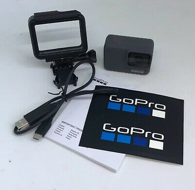GoPro HERO7 Silver Waterproof Digital Action Camera Touch Screen + USB Cord USA