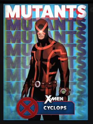Topps Marvel Collect Card Trader X-Men Mutants Blue Cyclops [Digital]