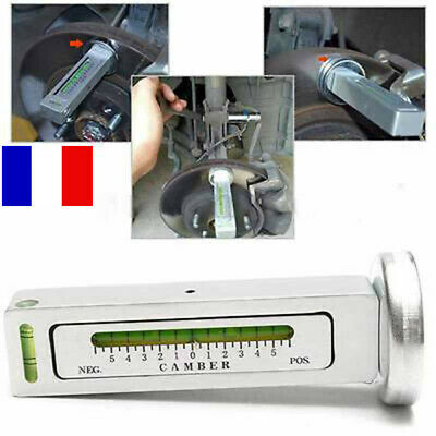 Universel Outil Jauge pour Voiture - Alignement Angle Niveau Jambe Carrossage FR