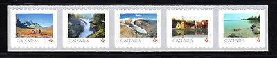 2019 Canada SC# From Far and Wide - Strip of 5 from coil of 5000 - M-NH