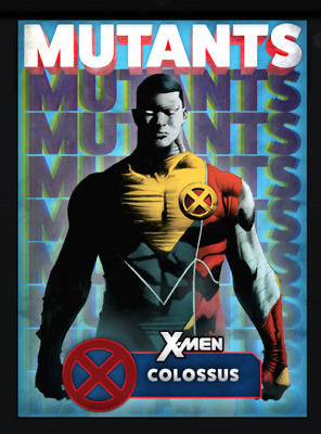 Topps Marvel Collect Card Trader X-Men Mutants Blue Colossus [Digital]