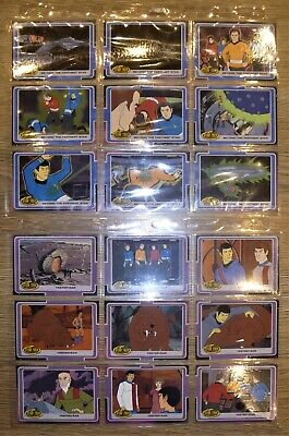 STAR TREK ANIMATED THE COMPLETE 200 Card Parallel Base Set Rittenhouse 2003