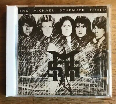 MSG by THE MICHAEL SCHENKER GROUP (CD, 1985 CHRYSALIS) Japan in VG/VG+
