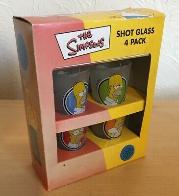 The Simpsons Shot Glasses - 4 Pack
