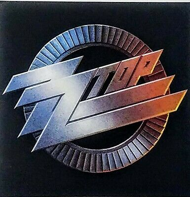 ZZ TOP 'RECYCLER' POSTER FLAT Suitable For Framing 1990  Classic Logo