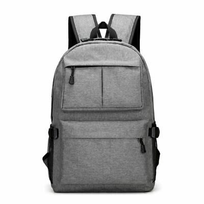 Travel Laptop Backpack Fit 15.6 Inch Laptop Oxford Cloth with USB Charging M7Y2