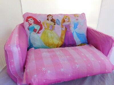 Disney Princess Flip Out Sofa Pink Inflatable
