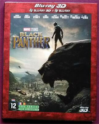 Black Panther blu-ray 3D + blu-ray