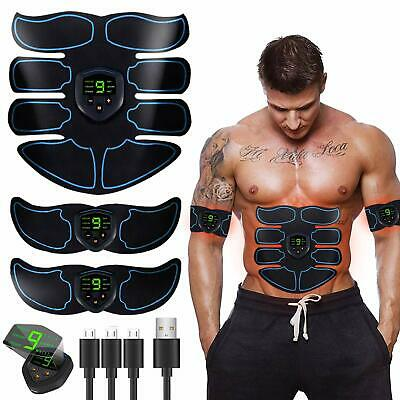 Abs Stimulator Ultimate Muscle Toner Ems Abdominal Toning Belt For Men And Arm