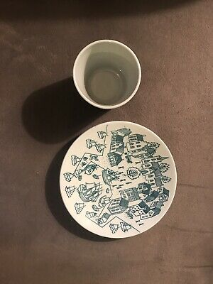 Nymolle Art Faience Hoyrup Limited Edition Made In Demark Cup & Saucer 4006
