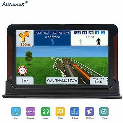 Aonerex SAT NAV GPS Navigation System, 7 inch HD Touch Screen,Voice Car Navigati
