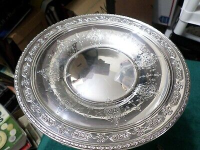 Stunning 1919 Antique Sterling Silver Platter Plate, LOUIS XIV, by TOWLE #9362
