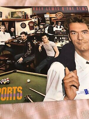 Vinyl record album Huey Lewis and the News; Sports; 1983; With Lyrics