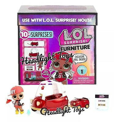 1 LOL Surprise Doll House Furniture Set Spaces MC SWAG COZY COUPE Car Preorder
