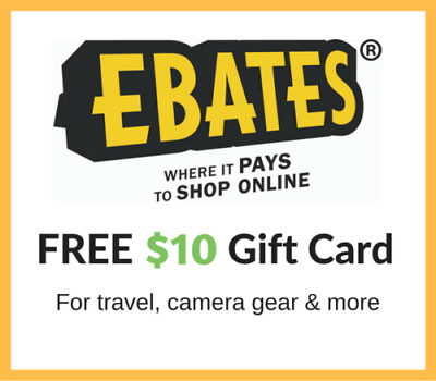 Get $10 FREE Cash Gift Card from EBATES RAKUTEN + $5 FROM ME