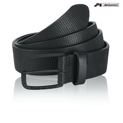 BELT Team McLaren Formula One 1 F1 Team Alonso Button Premium Black Sm-Med AU