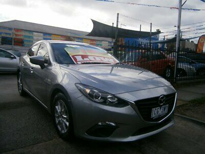 2014 Mazda 3 BM Neo Silver Grey Automatic 6sp A Sedan