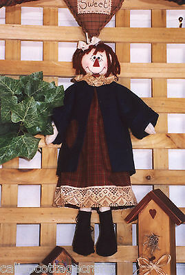 Sarah Jane Felt Annie Doll & Clothes Hand Sewing Pattern PATTERN ONLY