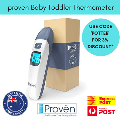 Iproven Baby Toddler Thermometer Forehead and Ear Thermometer with Infrared
