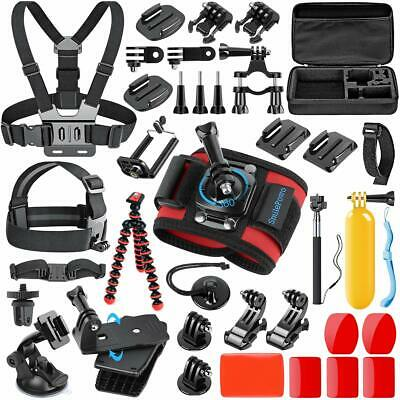 SmilePowo 42-in-1 Accessorries Kit for GoPro Hero 7 6 5 4 3/3+ 2 1 2018 Session