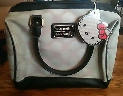 ed66973d6 LOUNGE FLY HELLO KITTY Black GOLD Polka Dots Bag shoulder bag SUPER ...