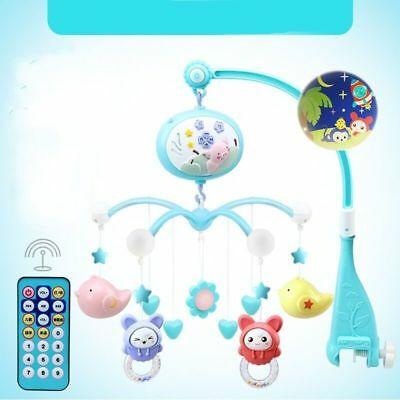 Crib Mobile Musical Bed Bell Newborn Baby Infant Bedroom Hanging Music Toys RC
