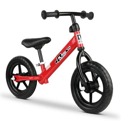RIGO Kids Balance Bike Ride On Toys Puch Bicycle Wheels Toddler Baby Red Bikes