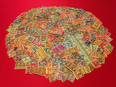 LOT of 500+ U.S. Precancel Stamps from Old Collection / Early US Stamp Lot