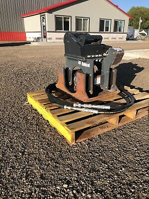 2016 Bobcat Pcf34 Plate Compactor For Mini Excavators, X-Change Coupler, Low Use
