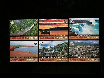2018-19 OPC Coast To Coast Canadian Tire Landmarks Of the North 6 Card Lot
